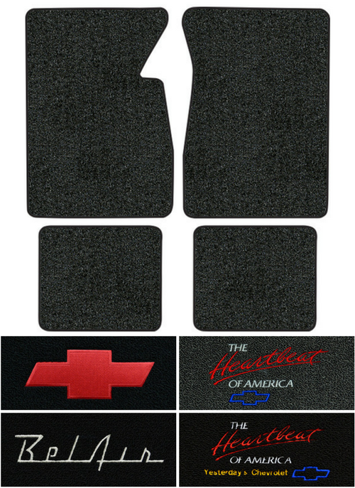 1958 Chevy Bel Air Floor Mats - 4pc - Loop