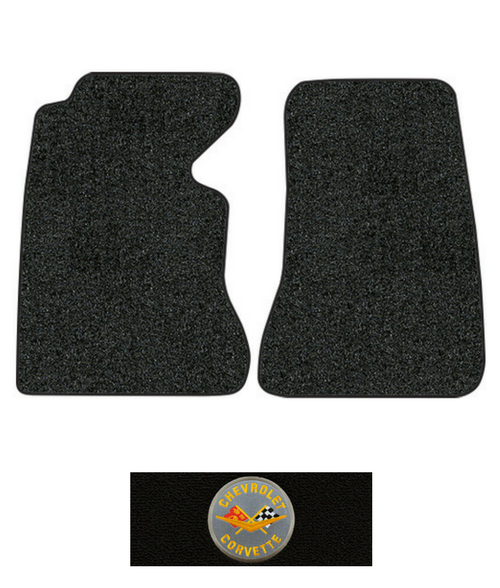 1953-1955 Corvette C1 Floor Mats - 2pc - Grospoint