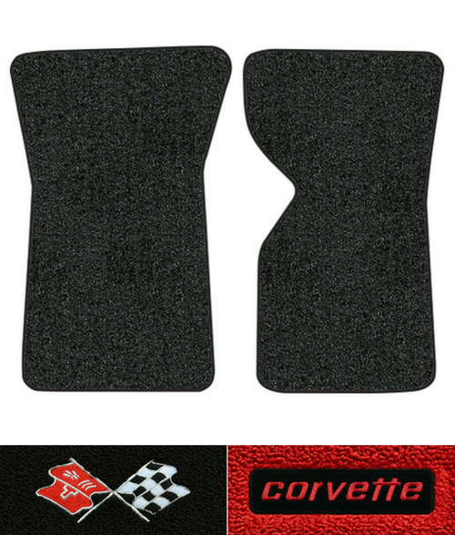 1969-1975 Corvette C3 Floor Mats - 2pc - Loop