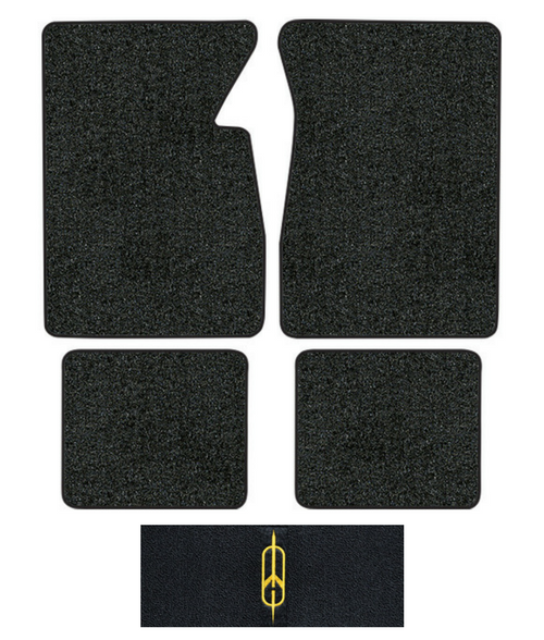 1965-1970 Oldsmobile 98 Floor Mats - 4pc - Loop
