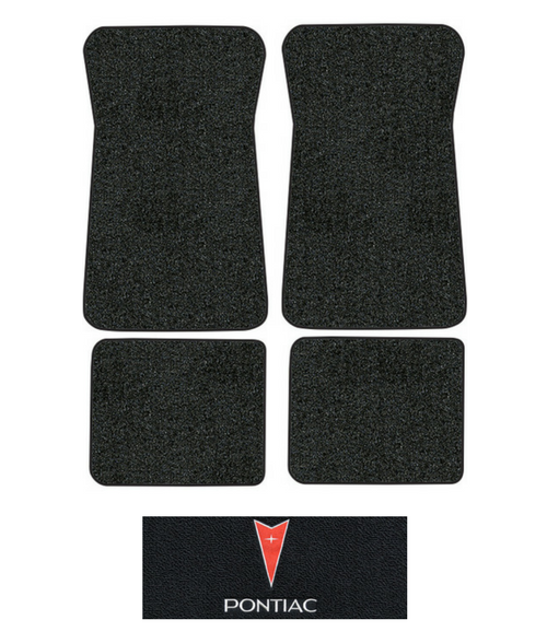 1971-1973 Pontiac Catalina Floor Mats - 4pc - Loop