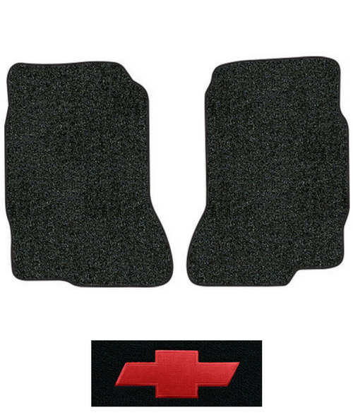 1975 1982 Chevy Luv Floor Mats 2pc Cutpile Factory