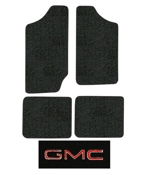 1983 1991 Gmc S15 Jimmy Floor Mats 4pc Cutpile
