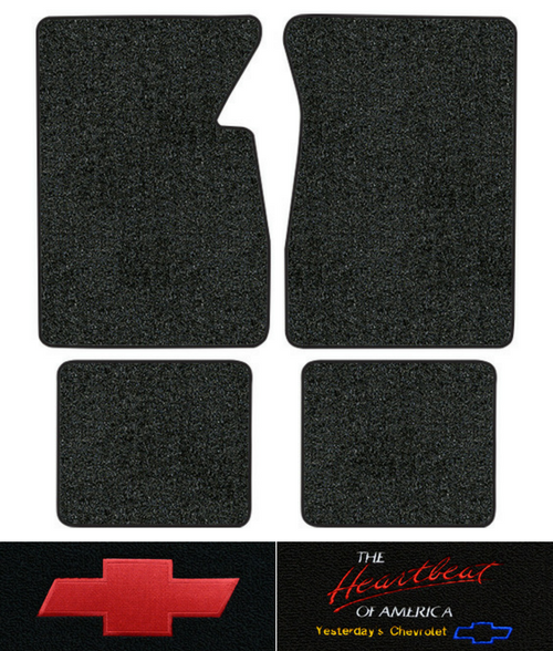 1967-1970 Chevy C10 Suburban Floor Mats - 4pc - Loop