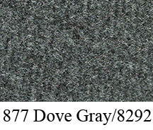 1987 GMC R2500 Rear Cab Wall Carpet Replacement - Cutpile | Fits: Reg Cab