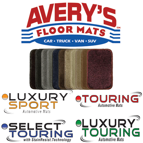 Avery's Floor Mats - Sample Color Swatch