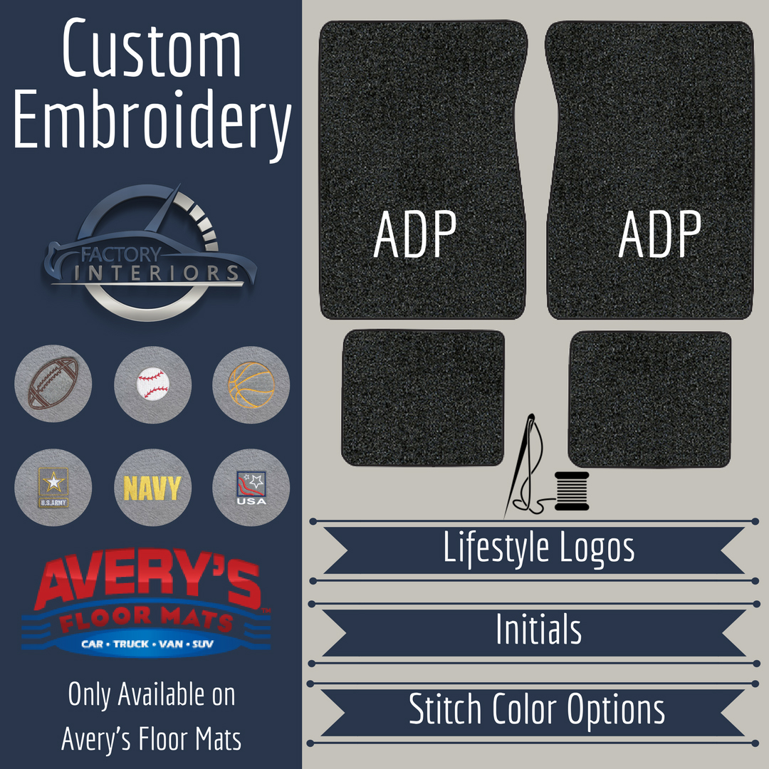 add  add monogramname  lifestyle logo  averys floor mats add