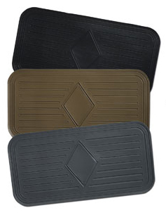 ADD ON - Add Serge Binding or Add a Heel Pad - Avery's Floor Mats - ADD ON