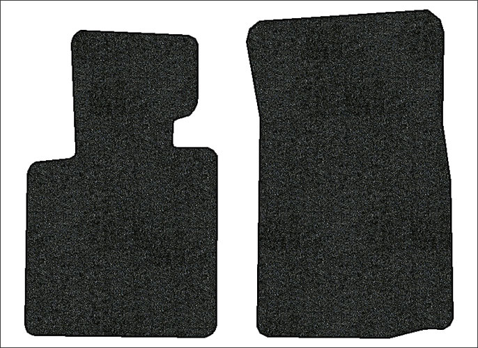 2003 2008 Bmw Z4 2 Pc Front Factory Fit Floor Mats Ebay