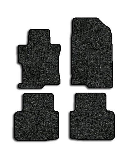 2008 2012 honda accord 4 pc set factory fit floor mats sedan factory oem parts. Black Bedroom Furniture Sets. Home Design Ideas