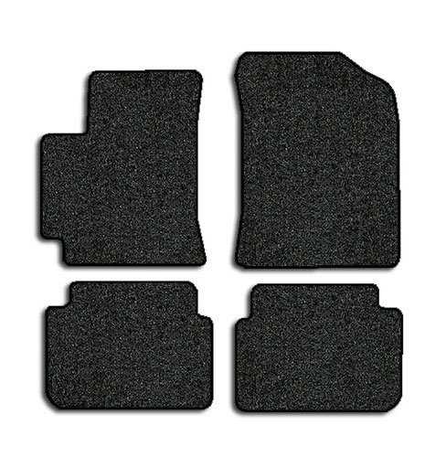 2009 2013 toyota corolla 4 pc set factory fit floor mats factory oem parts. Black Bedroom Furniture Sets. Home Design Ideas