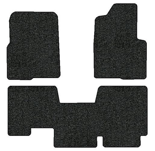 2011 2014 ford f 150 3 pc set factory fit floor mats extended cab factory oem parts. Black Bedroom Furniture Sets. Home Design Ideas