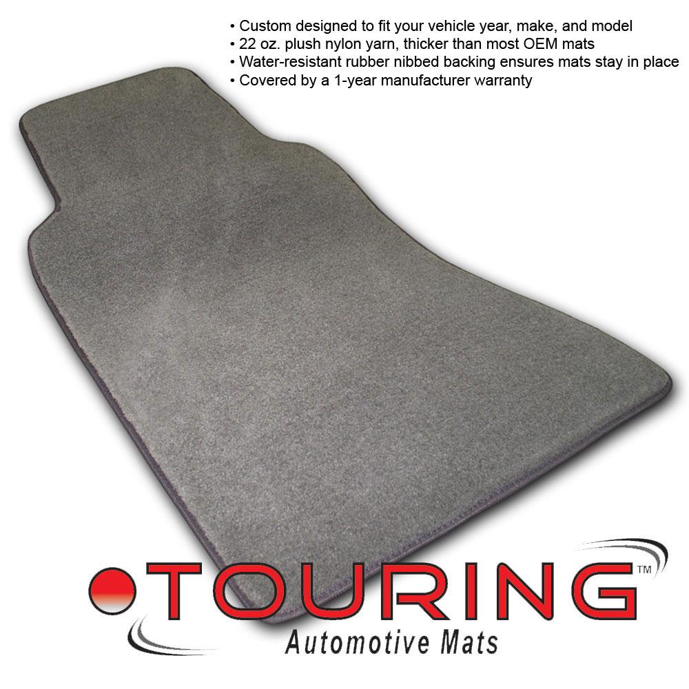 Coverking Custom Fit Front Floor Mats for Select Pontiac Ventura Models Nylon Carpet Black