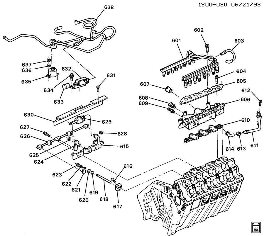 1993 1995 chevy corvette c4 zr1 lt5 fuel injector head gasket qty 2 rh factoryoemparts com Lt5 5 7 Liter V8 Engine Lt5 Engine HP