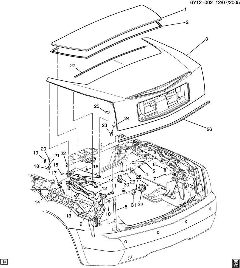 cadillac xlr door parts diagram wiring library u2022 rh lahood co Cadillac XLR Aftermarket Parts Cadillac XLR Body Parts