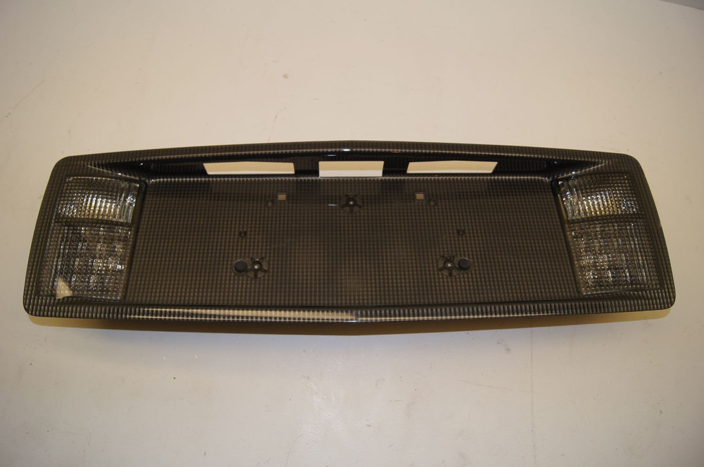 CADILLAC XLR REAR LICENSE PLATE FRAME BACK UP LAMP | Factory OEM Parts