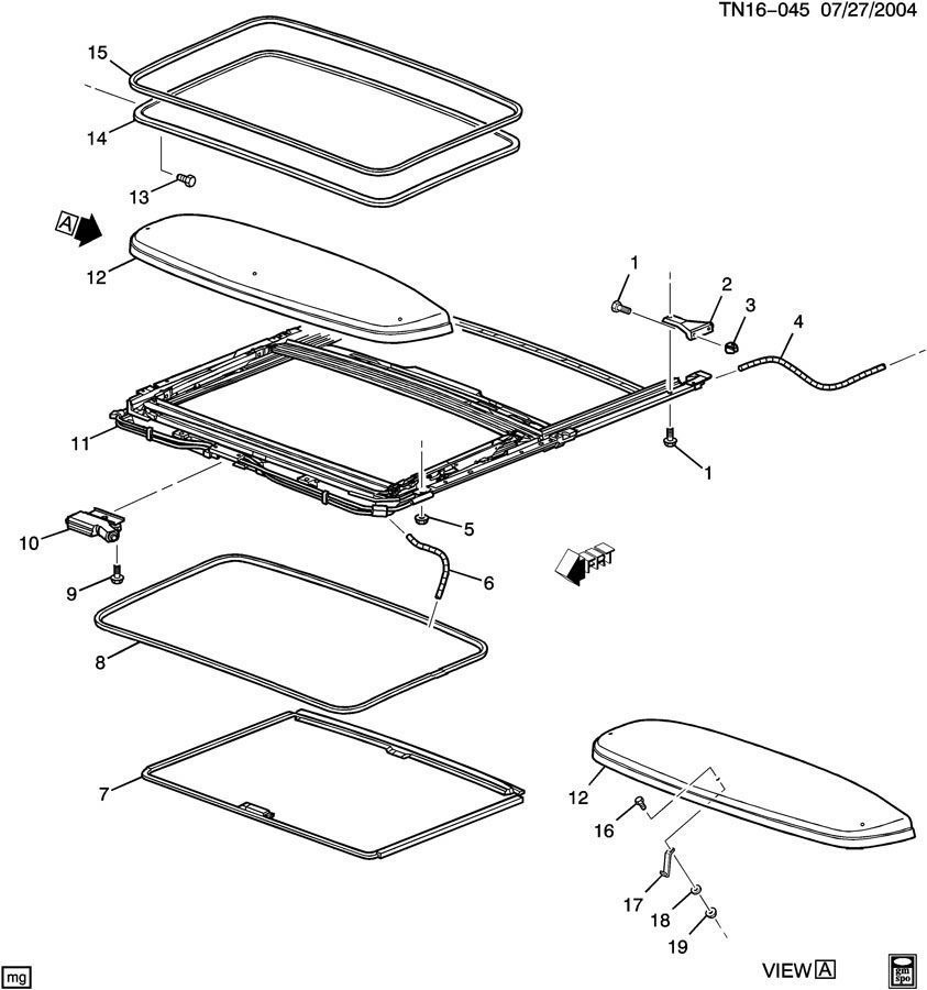 2000 Gmc Parts Diagram Sunroof Wiring Library