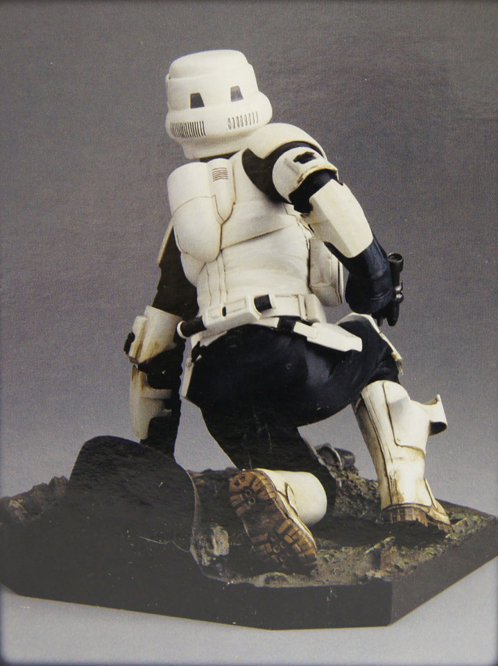 Star Wars Scout Trooper 1 7 Scale Soft Vinyl Model Kit