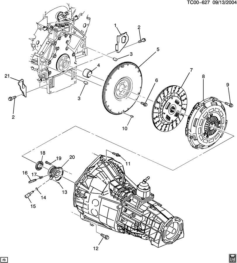 gm clutch diagram