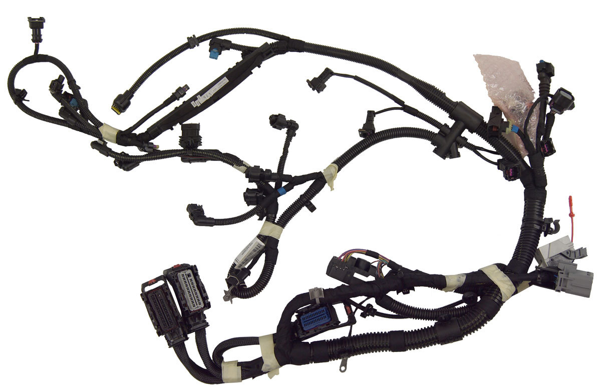 2011 Chevrolet Cruze 1.4L Turbo 6-Spd Auto Engine Wiring Harness New