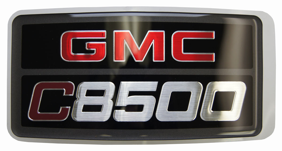 2003-2009 GMC Topkick C8500 Nameplate Badge Label Decal Model Logo ...
