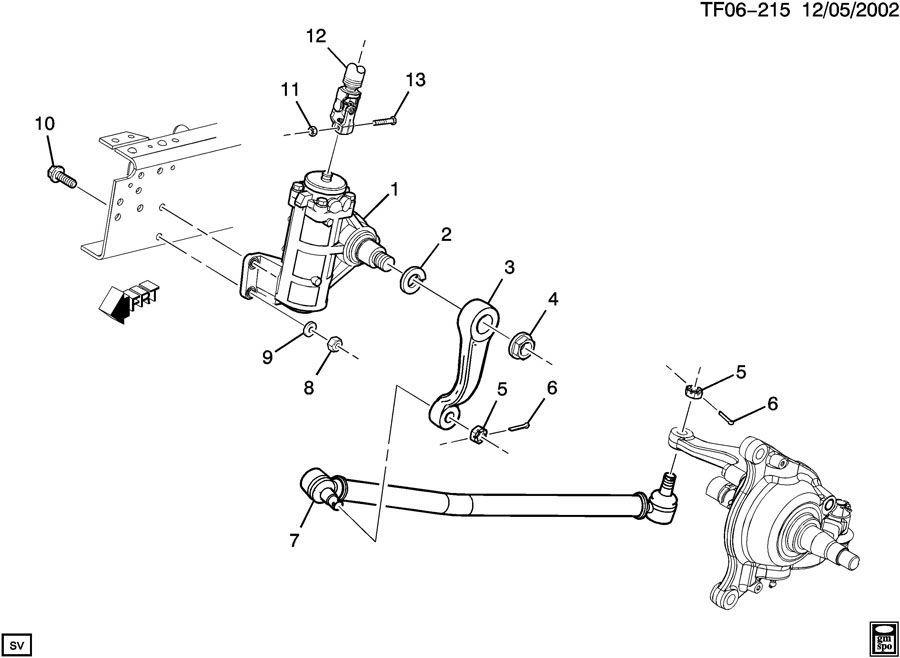 2004 2009 topkick kodiak t6500 t8500 steering connecting rod rh factoryoemparts com GMC T8500 Tandem Customized GMC T8500