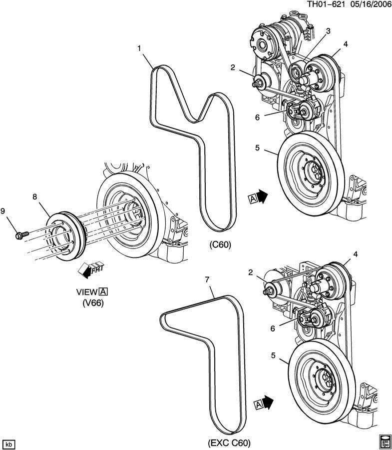 c8500 wiring diagram 2004 ducati ignition switch wiring diagram 2004 2004-2009 topkick/kodiak c6500-c8500 serpentine belt ... #8