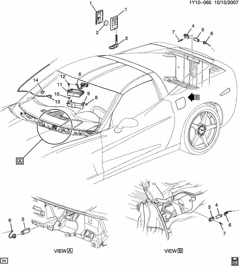 cadillac xlr wiring diagrams circuit diagram symbols \u2022 amc amx wiring diagram 05 09 corvette cadillac xlr keyless entry remote antenna cable a rh factoryoemparts com xlr to trs wiring diagram audio xlr wiring diagram