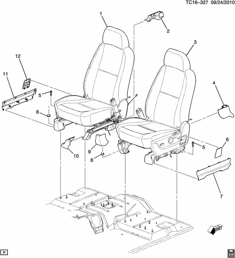 Gm Trucks Lh Front Seat Belt Utility Cover Trim Cashmere