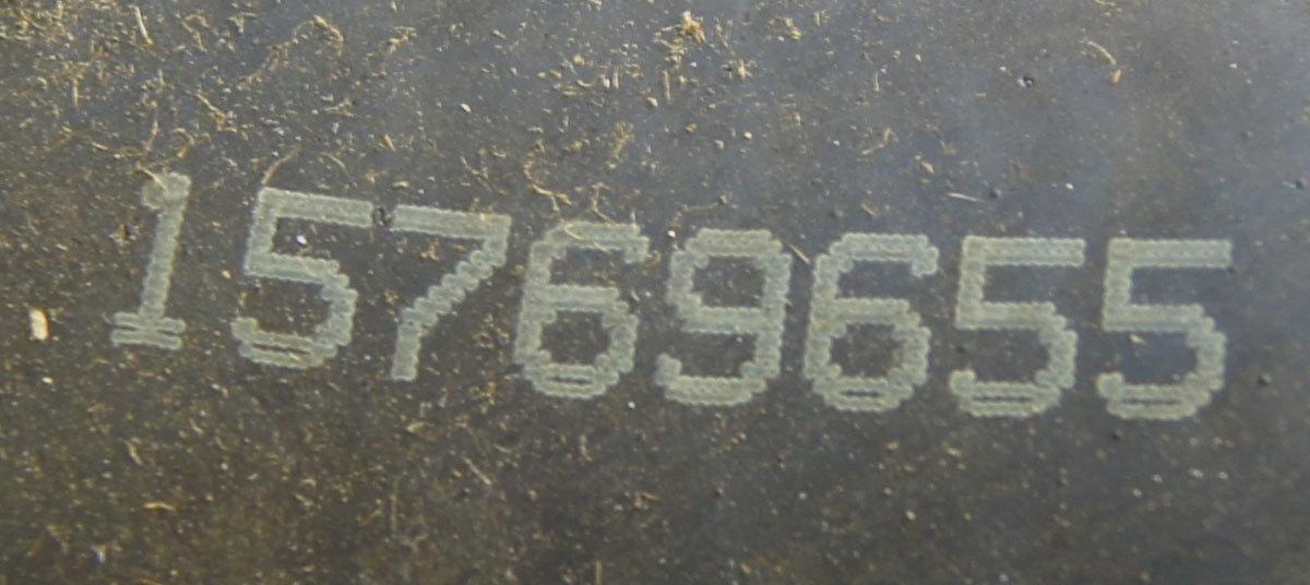 Upper Inlet Radiator Hose 78l Lg4 Tiltcab T6500 8500 15769655