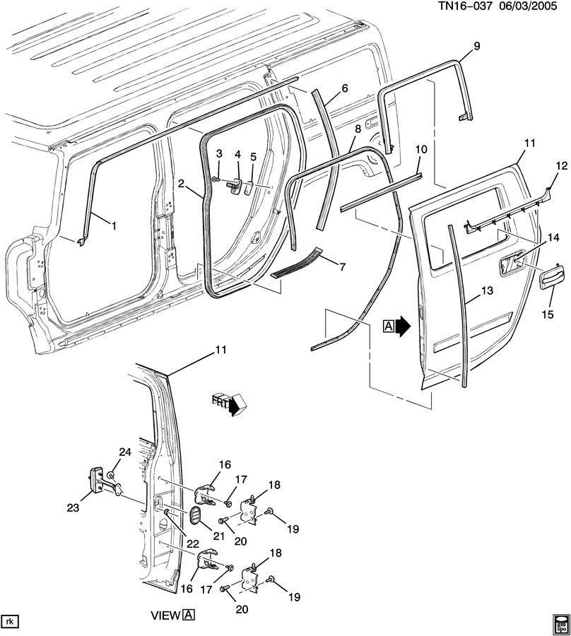 15905609 2003 2009 hummer h2 right rear door hinge upper lower new 15905609 15134974 5 hummer h2 door diagram free download wiring diagram