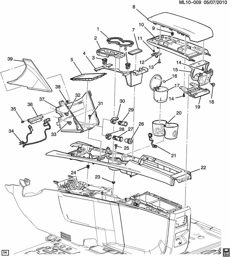2011 Gmc Terrain Wiring Diagram : Terrain center console black rubber liner new