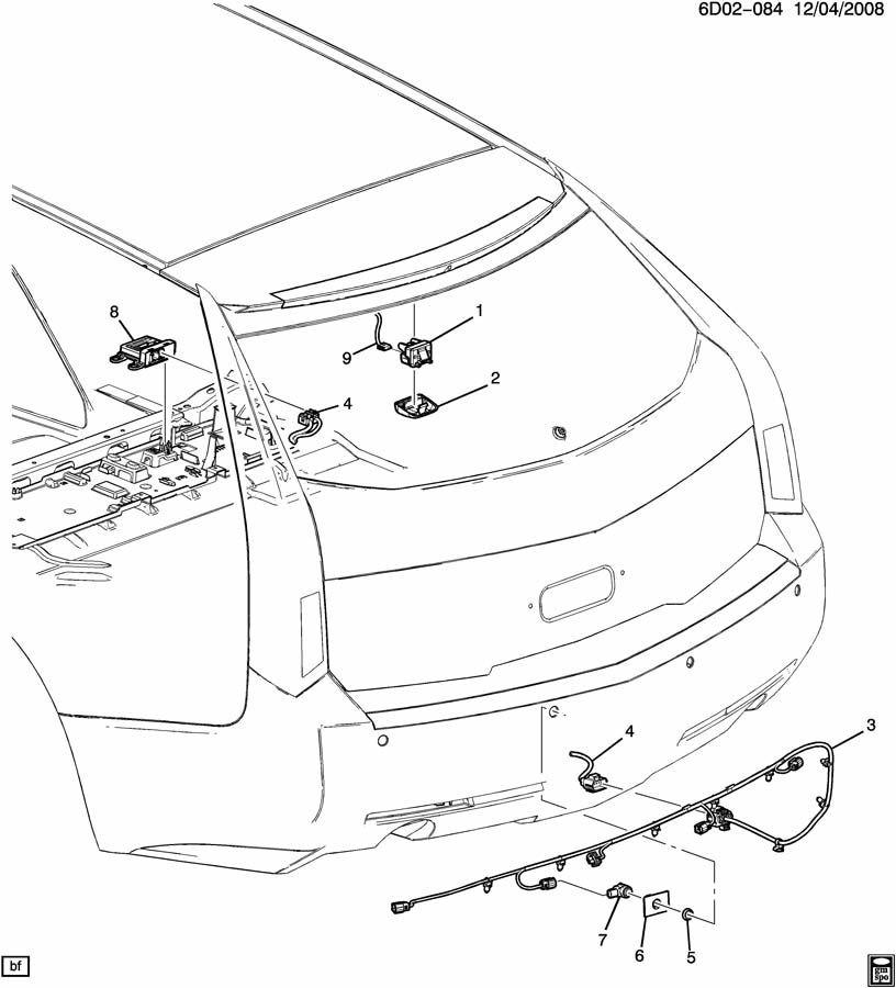 2010 gm parking assist module bosch broken tab