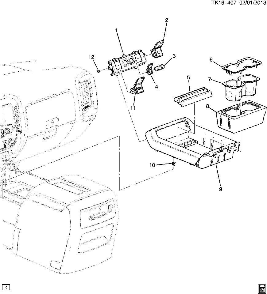 Chevy Silverado Oem Parts Diagram