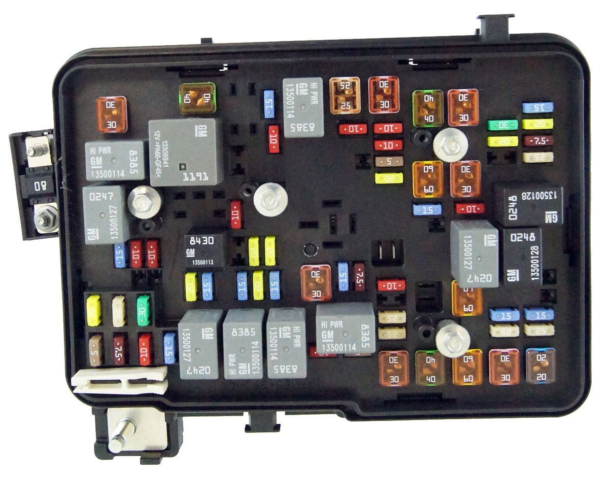 2011 2012 gmc terrain equinox 2 4l engine compartment fuse 2002 GMC Sonoma  Fuse Box Diagram