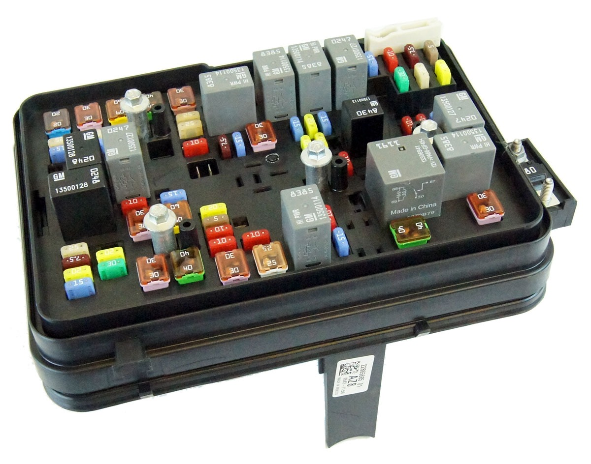 2011 2012 GMC Terrain Equinox 2 4l Engine Partment Fuse Block Box Rh  Factoryoemparts 1982 C10