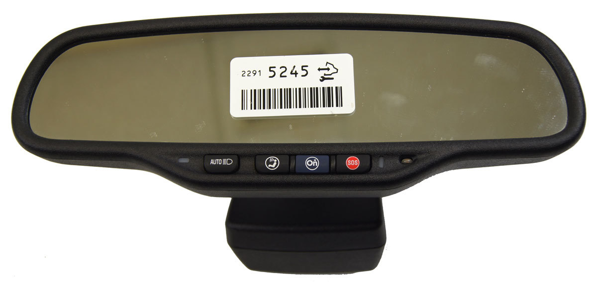 20092014 GM Chevy GMC Cadillac    Rear       View       Mirror    W   OnStar      GPS New OEM 22915245   Factory OEM Parts