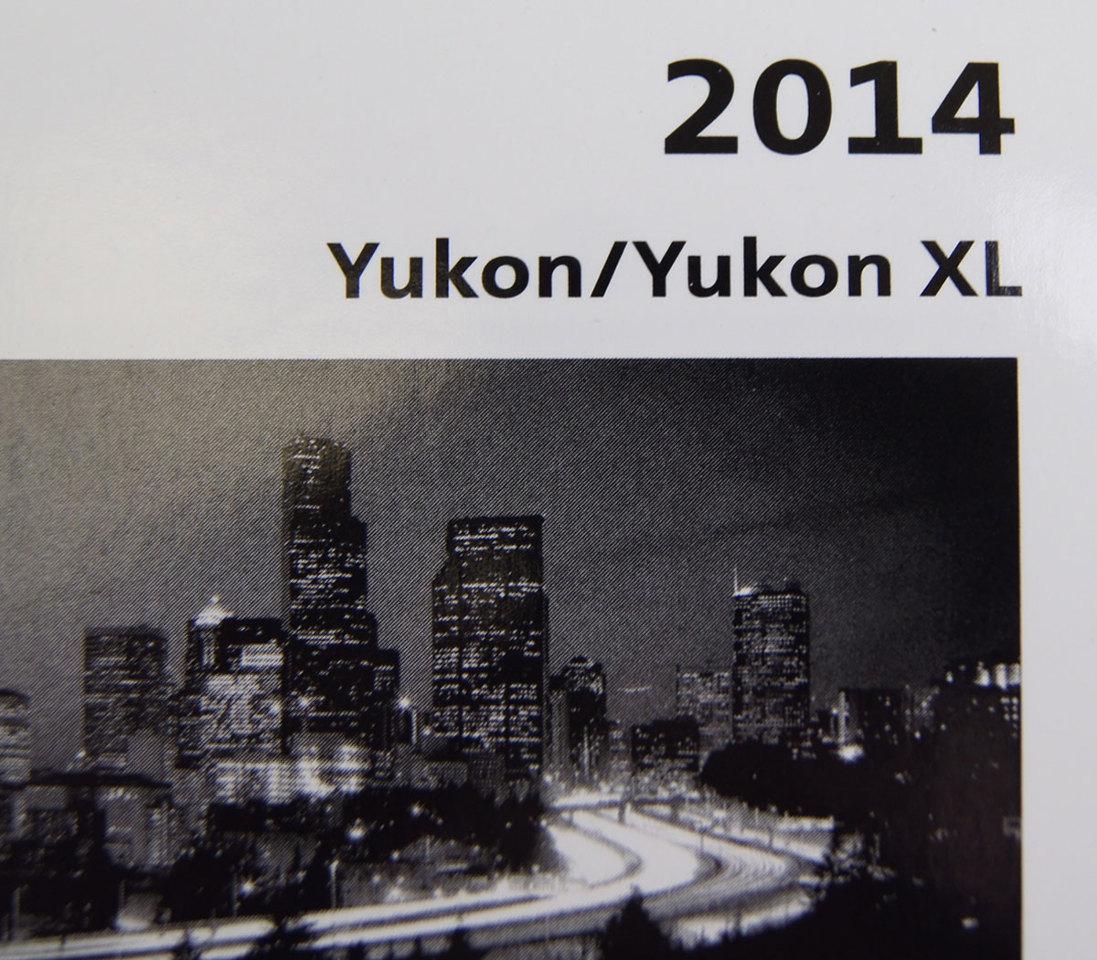 2014 gmc yukon yukon xl owners manual booklet new canada model w 2014 gmc yukon yukon xl owners manual booklet new canada model w warranty freerunsca Choice Image