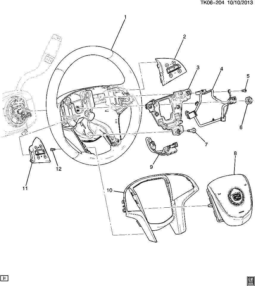 Cadillac Cruise Control Diagram : Cadillac escalade esv srx cruise control