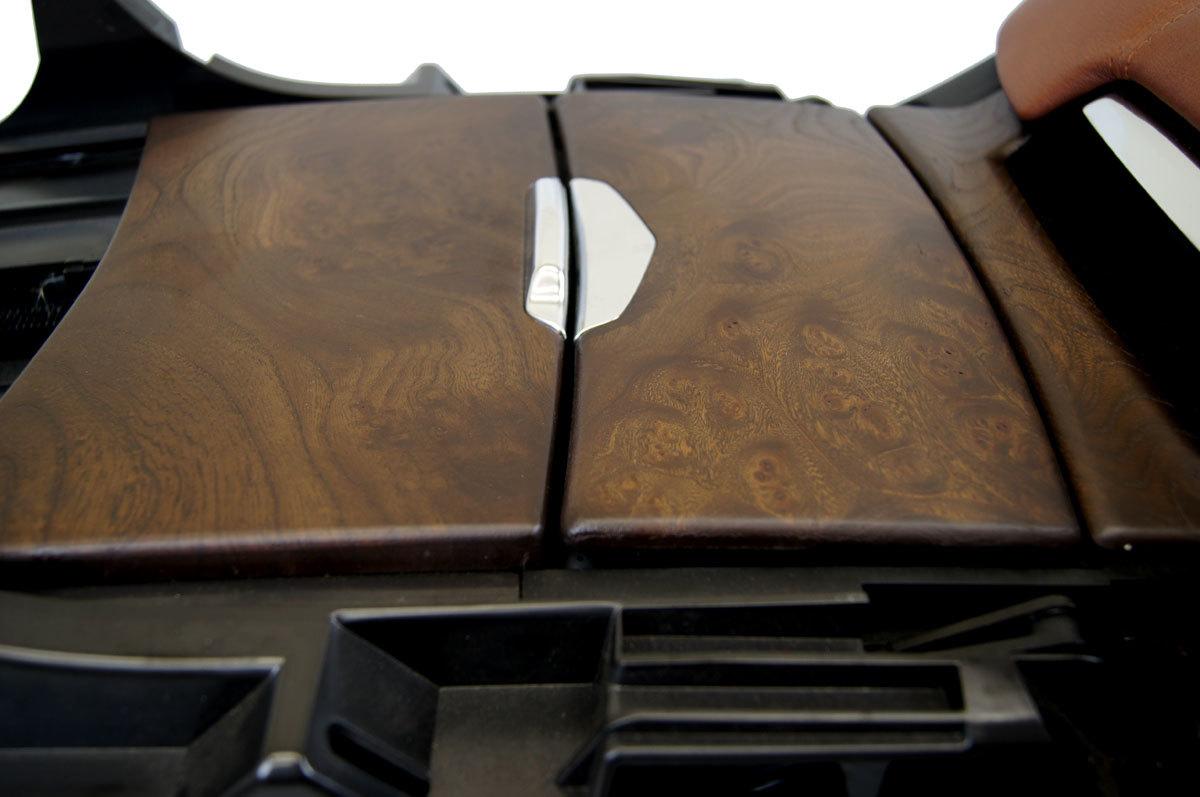 Cadillac escalade center console black kona w