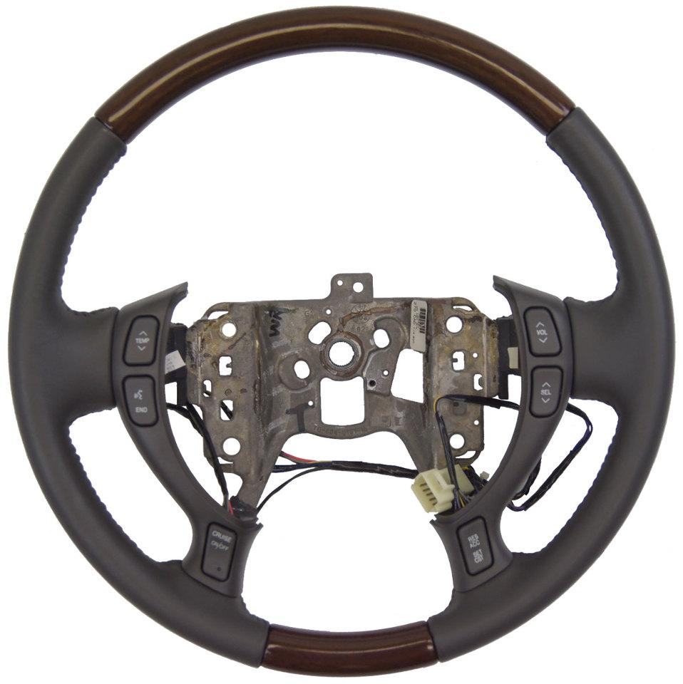 2002-2004 Cadillac DeVille Seville Steering Wheel Dark