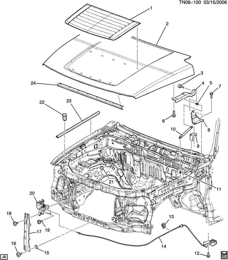 Locomotive Body Parts : Hummer h t hood bumper seal lh or rh new