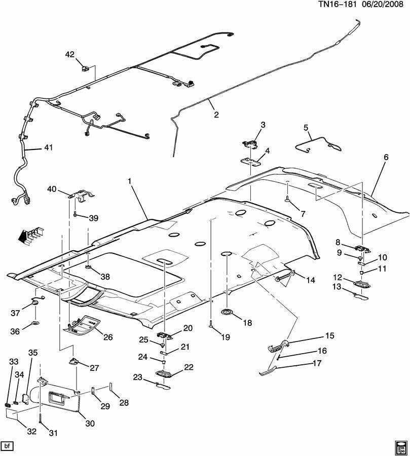 gm vehicles electronic compass module new oem 25815766 25916726 rh factoryoemparts com GM OEM Parts GM 3800 V6 Parts Diagram
