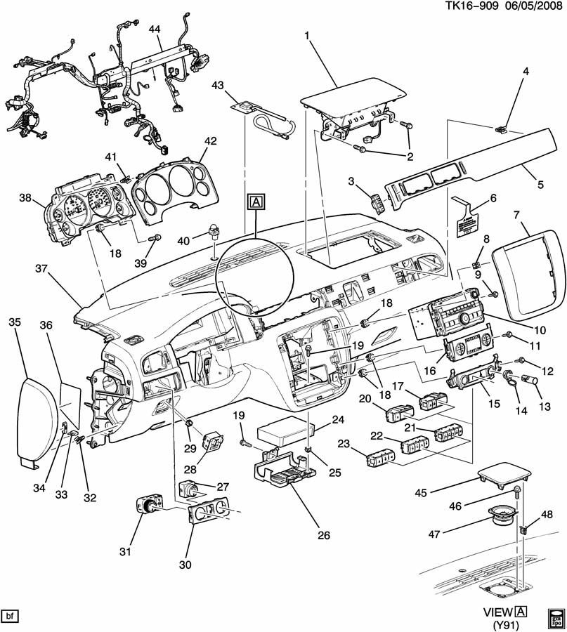 Oem Chevrolet Parts Diagram - House Wiring Diagram Symbols •