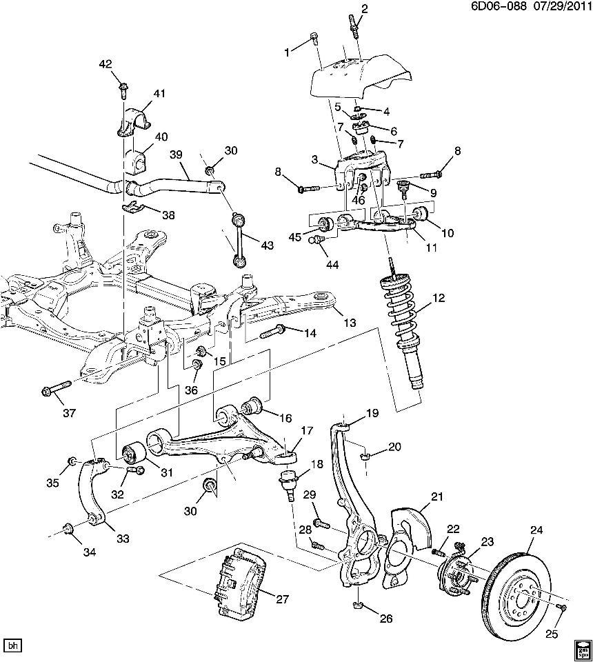 2011 Cadillac Cts Parts Diagram - Wiring Diagram Database •