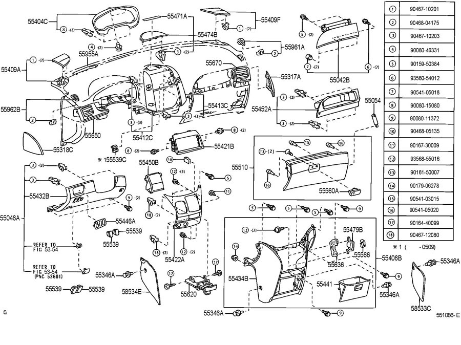 2009 Toyota Tacoma Interior Parts Diagram Wiring Diagram
