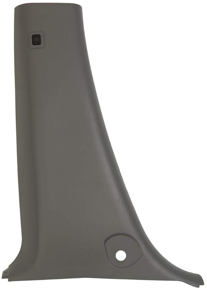 1998-2000 Toyota Sienna Lower Left Center Pillar Trim Blue Grey New 6241408020B0