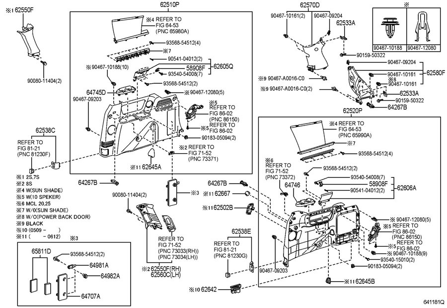 Exciting Toyota Sienna Parts Diagram Images Best Image Wire