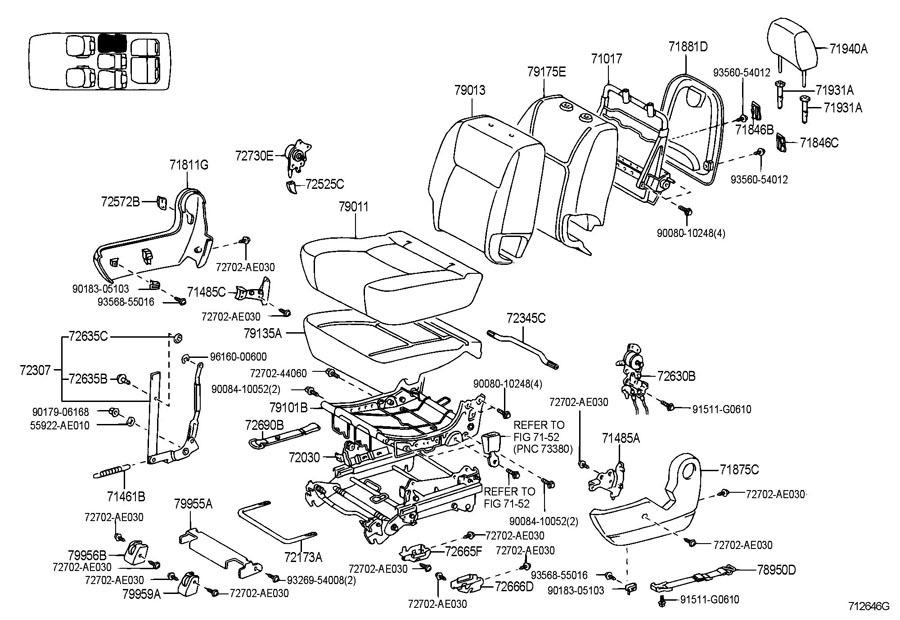 toyota sienna seat diagram 2000 toyota sienna wiring diagram