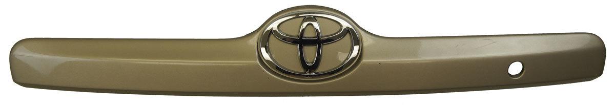 2003-2004 Toyota Matrix Rear Door Trim Handle Bezel New OEM Beige 7680102130E0
